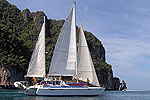 Charter Trimaran Aquila