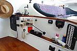 Chart table of Charter catamaran Maquina Phuket Thailand