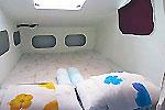 double cabin on Charter catamaran Maquina Phuket Thailand