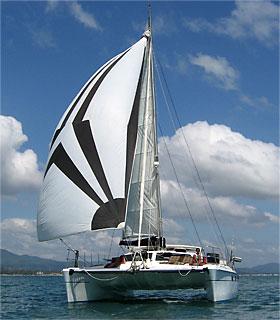 Sailing Catamaran SY Nakamal Thailand
