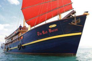 Sailing Samui Day Cruise Red Baron