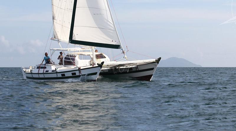 Bareboat Yacht Charter Wharram Tiki 38
