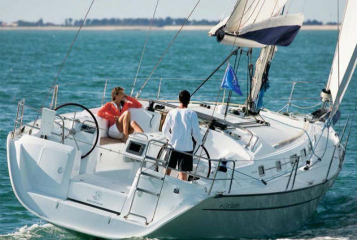 Bareboat Yacht Charter Cyclades 39.5
