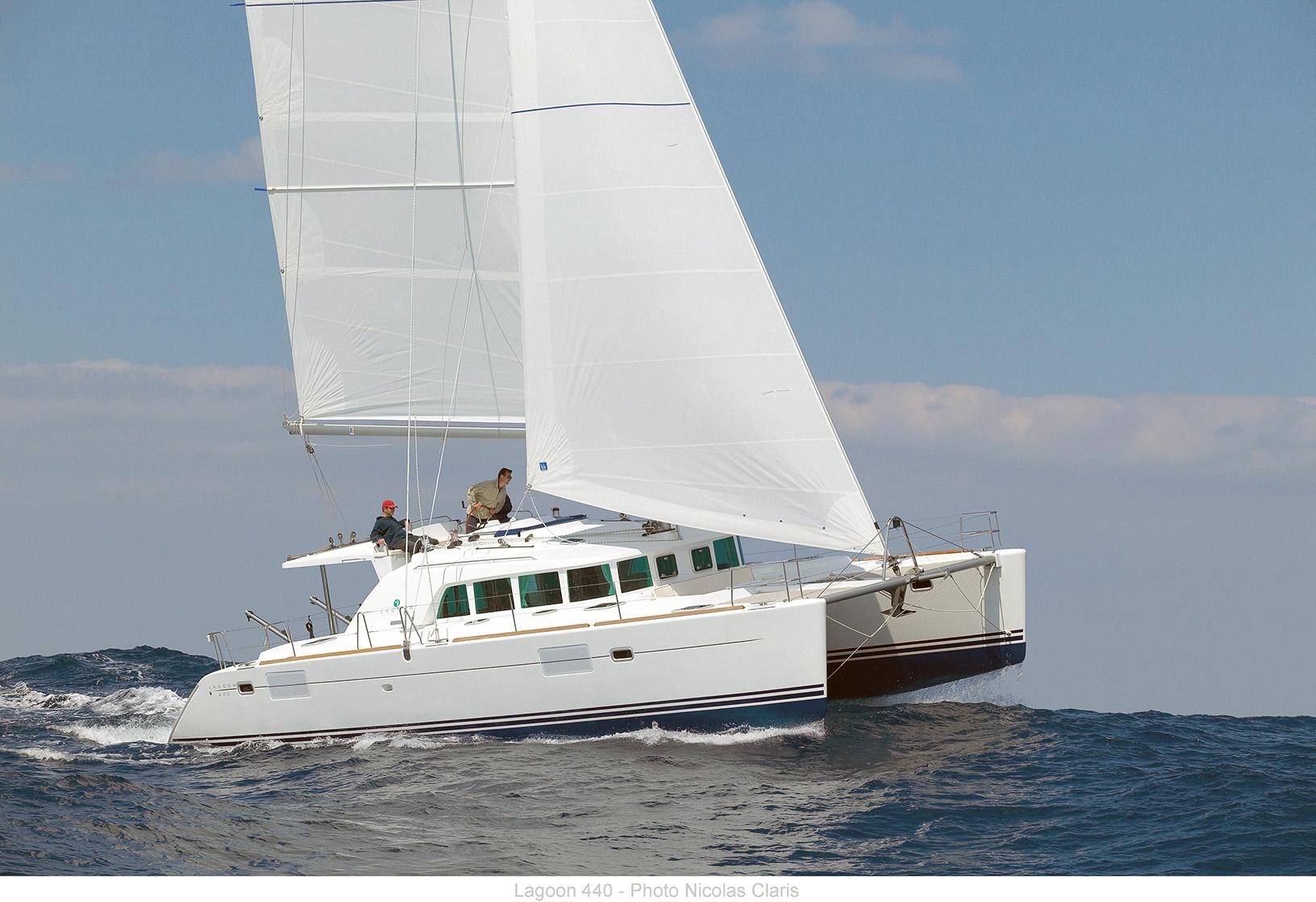 Bareboat Yacht Charter Lagoon 440 Sailing Phuket