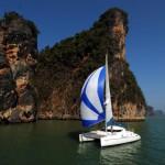 Athena 38 sailing