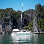 Catamaran in Phang Nga Bay