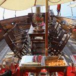 Lounge area on deck - Day Cruise Samui