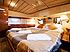Yacht Charter Ferretti bedroom