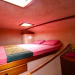 Front Cabin Starboard with king size bed