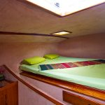 Front cabin port side with king size bed