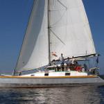 Charter Yacht under sails