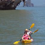 Kayaking in Phang Nga Bay