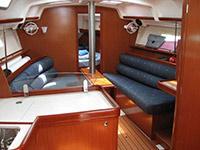 Bareboat Yacht Charter Thailand Beneteau Oceanis Clipper 343 Interior