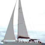 Bareboat Phuket Cyclades 50.5 under sails