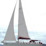 Bareboat Phuket Cyclades 50.5 under sails