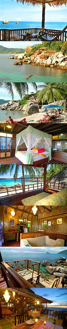 Charm Churee Villa - Luxury Accommodation Koh Tao Thailand