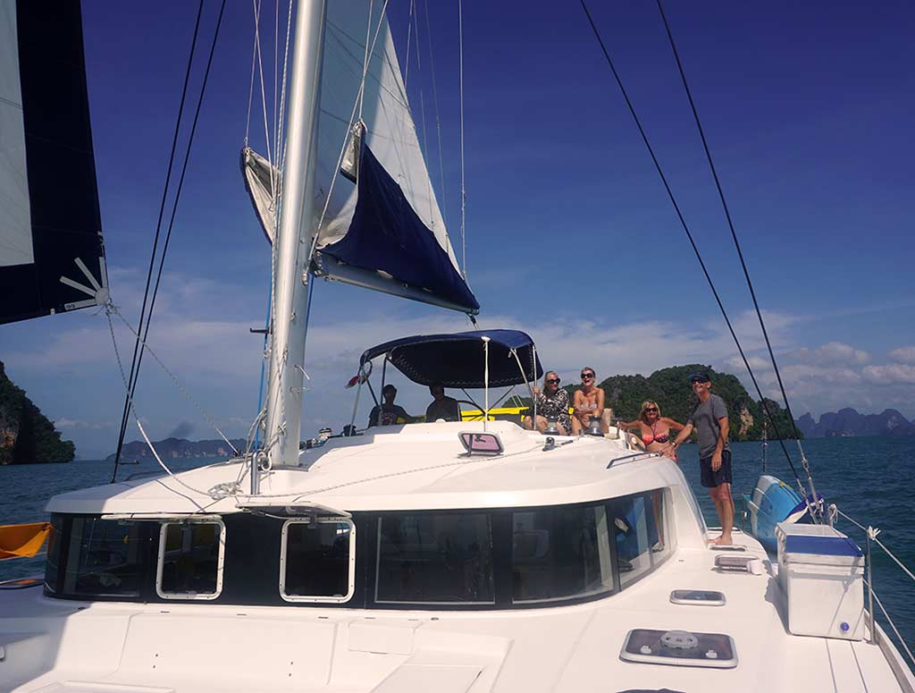 Crewed Yacht Charter on Calypso