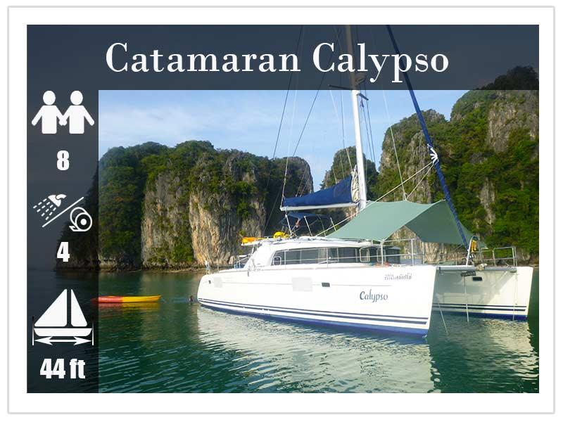 Sailing Catamaran Calypso