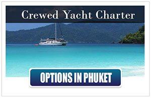 Crewed Yachts Phuket Thailand