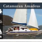 Charter a Sailing Catamaran – SY Amadeus