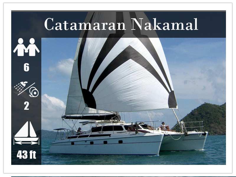 Crewed Yacht Charter Phuket Nakamal