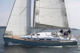 Hanse 400 Bareboat Charter Yacht Under Sail