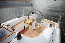 Hanse 355 Bareboat Charter Yacht Cockpit