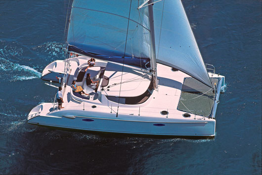 The Lavezzi 40 Bareboat Charter Catamaran