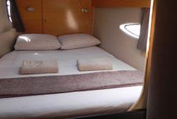 The Lipari 41 Bareboat Charter Catamaran Cabin