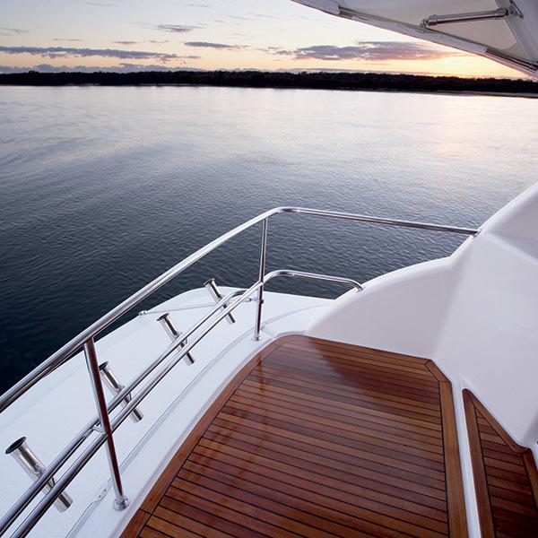 Luxury Yacht Charter Maritimo Stern Platform