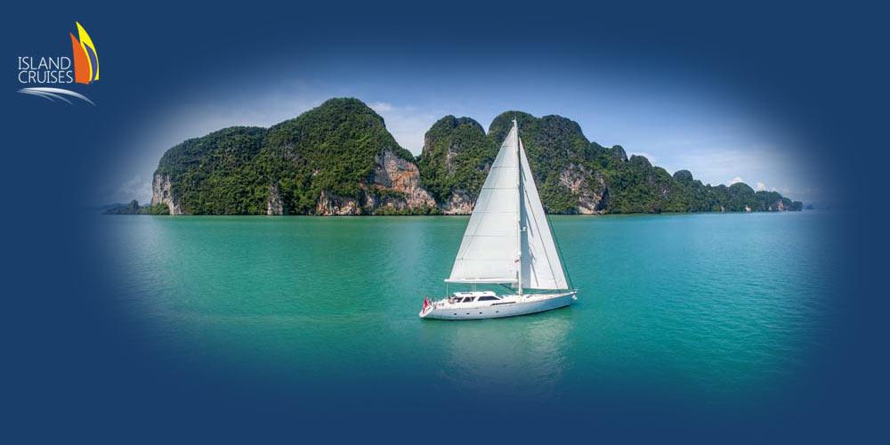 Luxury Yacht Sailing Phang Nga Bay
