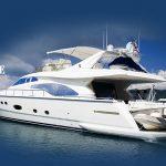 Luxury Yacht  Charter - Ferretti 680
