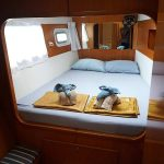 Port side front cabin
