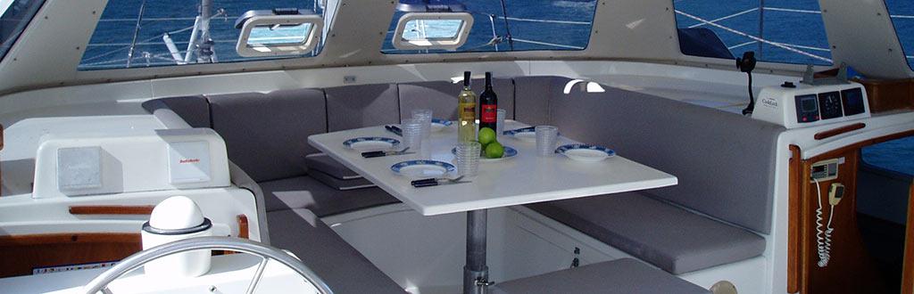 Sailing Samui Charter Catamaran Dreamcatcher