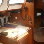 Sailing Samui Yacht Sanora Nav Station And Aftt Cabin