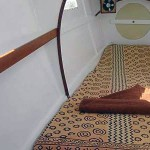 Single cabin on this bareboat