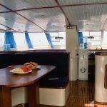 Deck Salon of the Catamaran