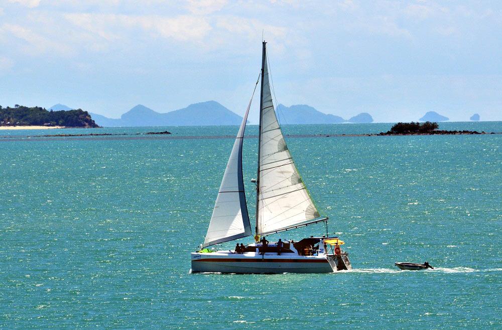 Koh Samui Sailing Yacht Charter Catamaran Nautiness II